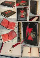 Victorian Black Widow Kill Counting Journal by BCcreativity