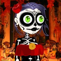 Day of the Dead Germaine by jimathers