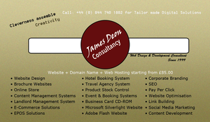 James Deon Consultancy Business Card by ziggyrafiq