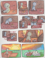 Cry Guy is Claustrophobic by James-Everette