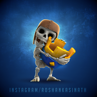 Clash of Clans / Clash Royale Fusion. by roshankasinath