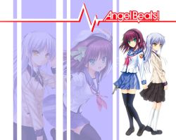 Angel Beats wallpaper by BlackSilverstream