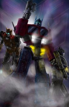 Transformers by psdguy