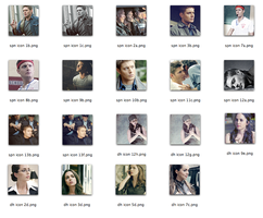 SPN and DH icons by bristrek