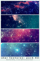 Star Textures: Pack 03 by dastardly-icons