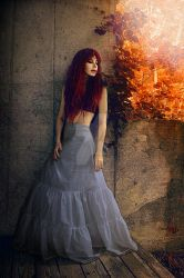 Flaming Titian by SpokeninRed