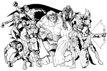 The Avenging League by GavinMichelli