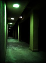 A Darker Walkway by Stock7000
