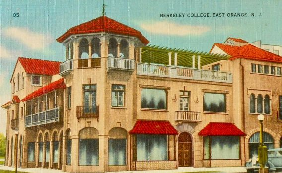 Vintage New Jersey - Berkeley College by Yesterdays-Paper