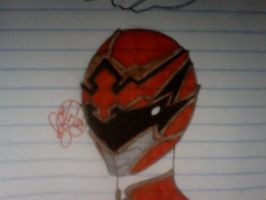 Ronin Request Red helmet by DynamicSavior