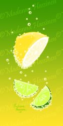 Fizzy Lemon and Lime by ColorfulArtist86
