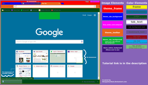 How to Make Your Own Chrome Theme by Sleepy-Stardust