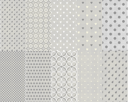 Seamless Photoshop Patterns - grey textured pack by youmadeitreal