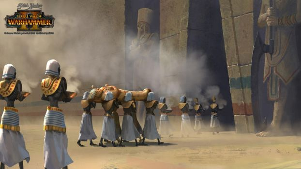 Tomb Kings Funeral by EthicallyChallenged