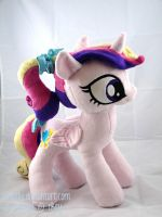 Young Princess Cadance Plush by siriasly
