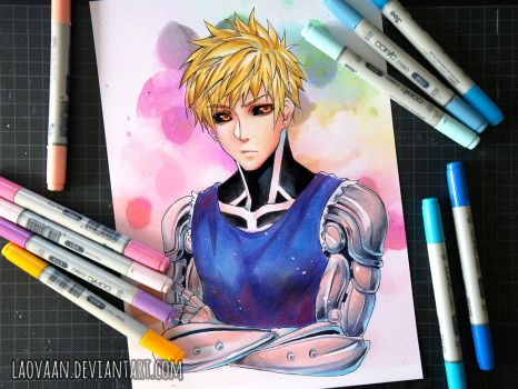 Genos - One Punch Man by Laovaan