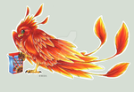 -C- Chibi Phoenix by Shadow-of-Destiny
