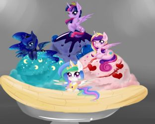 Royal Ice Cream by Moeru789