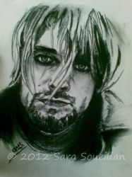 Portrait of Kurt Cobain by EmYoussif
