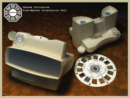 Dharma Initiative View-Master Orientation Tool by FarawayPictures