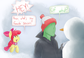 Jalm's Apple Question by Adequality