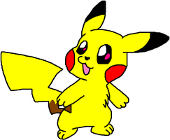 Pikachu by HeartinaRosebud