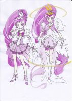 Smile Precure OC Cure Cheers by Rona67