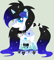 Musical Fountain Pony Adopt (Closed) by MissSuqarPink