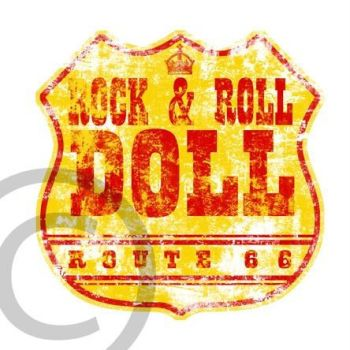 ROCK AND ROLL DOLL ROUTE 66 by optimusdesigns