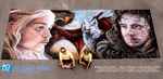 Game of Thrones Chalk Art by charfade