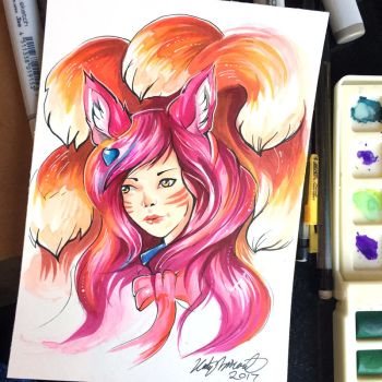 22- Ahri by Lucky978