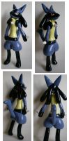 Lucario Commission by Foureyedalien