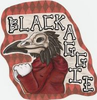 Black Aggie badge by Dresden-Complex