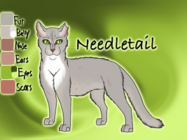Needletail of The Kin - Shattered Sky by Jayie-The-Hufflepuff