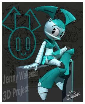 Jenny Wakeman in 3D by 14-bis