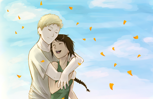 Katniss and Peeta by Neta1229