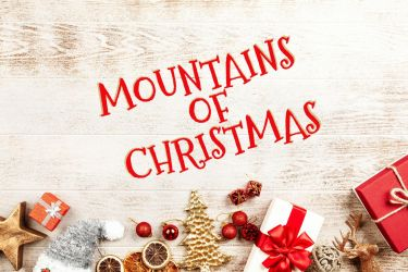 Mountains of Christmas by fontsrepo