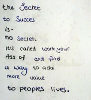 The secret to Success... (Day 10) by Hedwigs-art