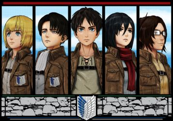 Attack on Titan by Thuddleston