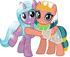 MLP Vector - Radiant Hope and Somnambula by jhayarr23