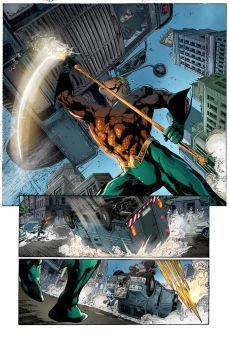 Aquaman Issue 01 Page 06 By Joeprado2010 Color by marcopelandraart