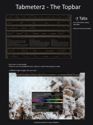 Tabmeter2 - The Topbar by toastbrotpascal