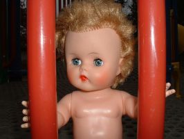 Dolly at playground 7 by JensStockCollection