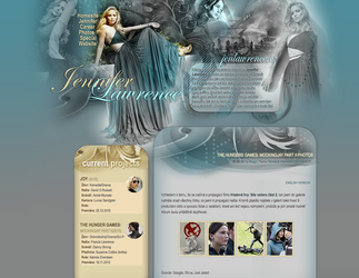 Jennifer Lawrence  design by perlaque
