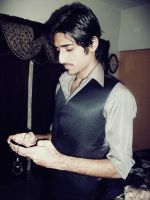 ME .. DOING tick tack tick by munawar-khel