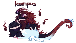 Krampus [Christmas Peeper Raffle] [CLOSED] by DragonMiner101