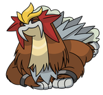 The Happiest Entei (Daily #413) by Blues-LeSharpe