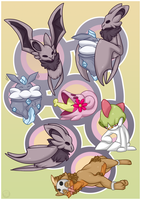 Lots of Pokedoodles