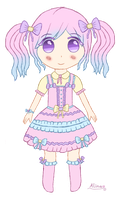 .: Pastel Lolita adopt #1 [Closed] :. by Angelinia