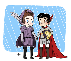 Prince and Knight by Sunshunes